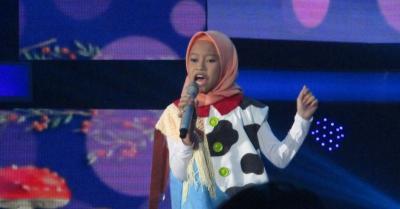 Rizky Febian Kaget dengan Aksi Raisya di Top 7 Indonesian Idol Junior