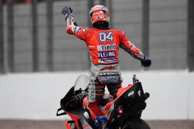 Dovizioso Beberkan Kunci Kemenangannya di MotoGP Valencia 2018