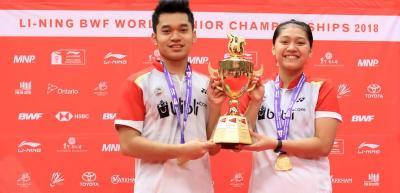 Leo Indah Tak Percaya Jadi Juara Dunia Junior 2018