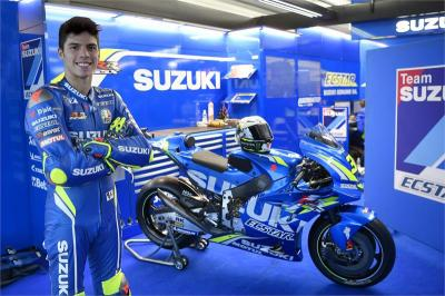 Joan Mir Ceritakan Debutnya di MotoGP bersama Suzuki