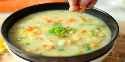 Sup Krim Jagung Praktis untuk Sarapan, Bikin Yuk