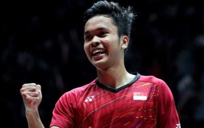 Anthony Ginting Bidik Semifinal BWF World Tour Finals 2018