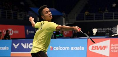 Kalah Lagi, Anthony Ginting Akui Kesulitan Hadapi Permainan Shi Yuqi