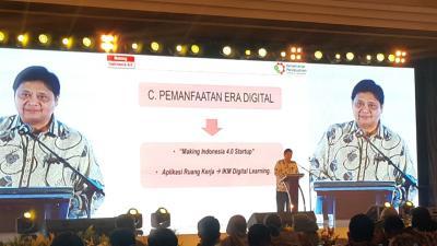 Nilai Industri Digital USD150 Miliar, Menperin Dorong Startup RI Mendunia