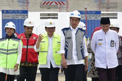 20 Desember Presiden Jokowi Bakal Cek Tol Jakarta-Surabaya