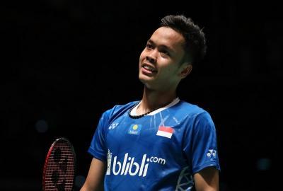 Hitung-hitungan Peluang Anthony ke Semifinal BWF World Tour Finals 2018