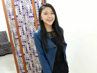 4 Gaya OOTD Anneth Delliecia, Juara Indonesian Idol Junior 2018