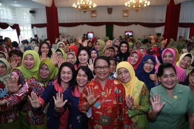 Menteri Yohana Harap Perempuan Bisa Tingkatkan Potensi untuk Bangsa