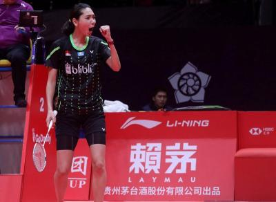 Gloria Tetap Bersyukur meski Tersingkir dari BWF World Tour Finals 2018