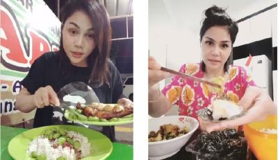 DJ Butterfly Doyan Banget Makan Petai, Lihat Ekspresinya Bikin Ngiler!