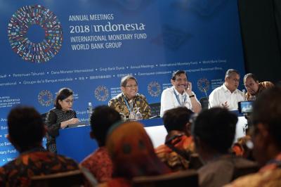 Pertemuan IMF-World Bank Beri Dampak Ekonomi Rp5,5 Triliun