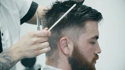 Model Rambut Unik seperti Tombol Play di Youtube, Berani Coba?