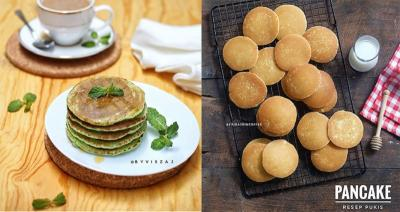 2 Rekomendasi Sajian Pancake untuk Sarapan Super Praktis dan Bergizi