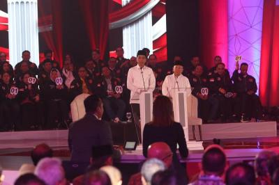 Debat Pilpres 2019, Ini Kalimat Ikonik yang Paling Diingat Netizen