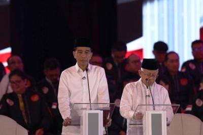 TKN: Jokowi-Ma'ruf Jawab Pertanyaan Debat Langsung ke Substansinya