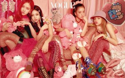 Majalah Vogue Tunjuk EXO, BLACKPINK dan BTS Jadi Ikon Fesyen Paling Top