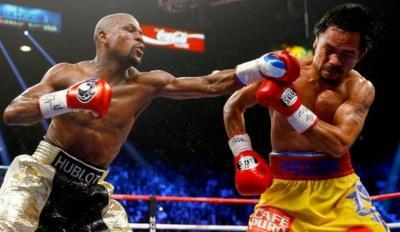 Pacquiao Kembali Tantang Mayweather Jr untuk Rematch