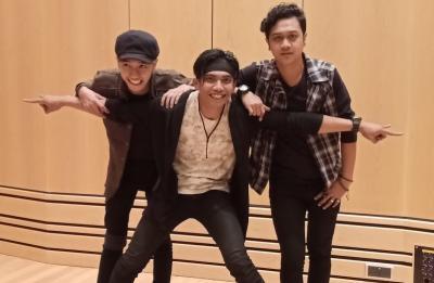 Kembali Bangkit, Band Sinjo Rilis Lagu Baru