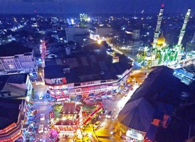 Replika Singa Raksasa hingga Puluhan Ribu Lampion akan Ramaikan Festival Imlek 2019 di Singkawang
