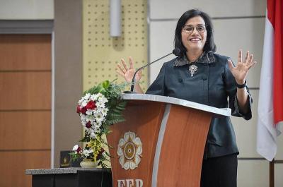 Sri Mulyani: Saya Tidak Cukup Bangga Jadi Menteri Keuangan Terbaik