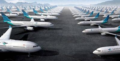 Garuda Sudah Turunkan Harga Tiket Pesawat di Sejumlah Rute