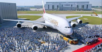 Intip Kemewahan Pesawat Besar yang Sudah Berhenti Diproduksi