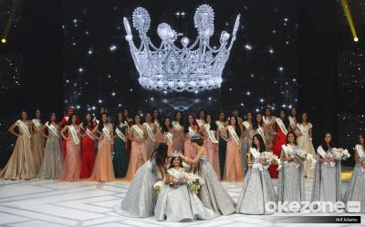 Foto-Foto Momen Penobatan Miss Indonesia 2019, Princess Mikhaela Audrey Megonondo