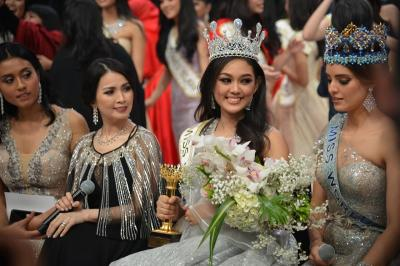 Miss Indonesia 2019 Princess Megonondo: Gelar Ini Saya Persembahkan untuk Mama