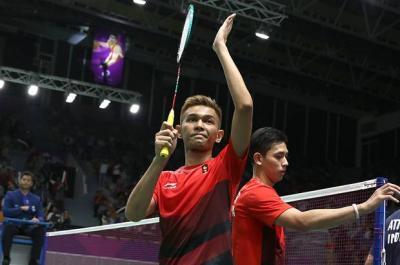 Tampil di Publik Sendiri, Fajar Alfian Antusias Sambut Superliga Badminton 2019