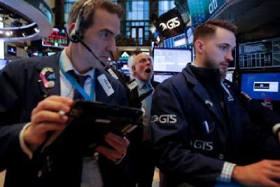 Perundingan Dagang AS-China Alot, Wall Street Melemah