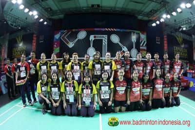 Tim Putri Jaya Raya Pastikan Tempat di Semifinal Superliga Badminton 2019