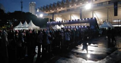 Jelang Konser Siti Nurhaliza, Antrian Penonton Mengular