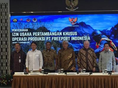 Tak Ada Pertemuan Diam-Diam Jokowi dan Bos Besar Freeport