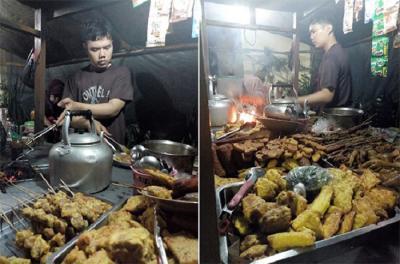 Viral Foto Penjual Angkringan Mirip Ahmad Dhani
