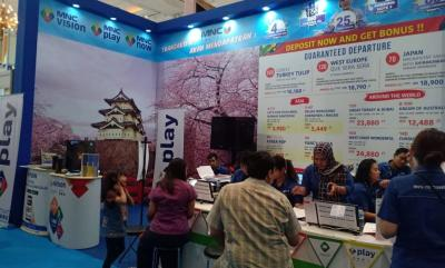 MNC Travel Kolaborasi dengan MNC Play, MNC Vision & MNC Now di Pameran ASTINDO Travel Fair 2019