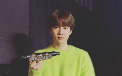 Rahasia Berfoto Keren ala Suho EXO, Pemilihan Outfit Jadi Kuncinya