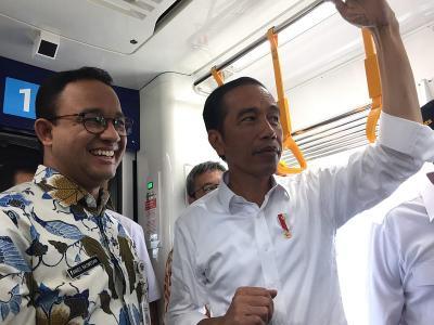 Jokowi Jajal MRT Sebelum Diresmikan 24 Maret
