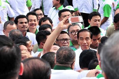 Presiden Jokowi Perintahkan Mentan Tanam Rempah-Rempah