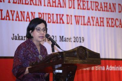 Sri Mulyani Tekankan Pentingnya Peran Camat dalam Pembangunan Daerah