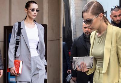 Kala Gigi dan Bella Hadid Jadikan Buku sebagai Aksesori Fesyen