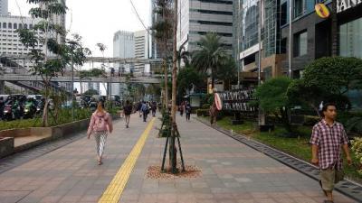 Penataan Trotoar DKI Jakarta Dikebut