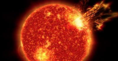 Dahsyatnya Lidah Api yang Menjulur dari Permukaan Matahari