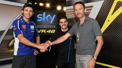 Rossi Masih Belum Mau Tim Balapnya Naik Kelas ke MotoGP
