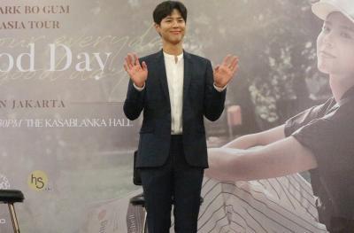 Tutup Fan Meeting Jakarta, Park Bo Gum Minta Fans Jaga Kesehatan