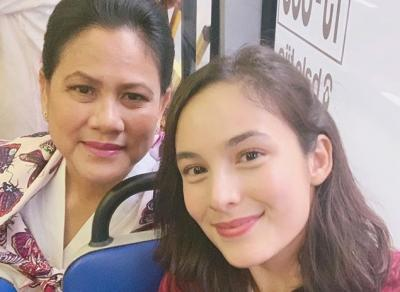 Chelsea Islan dan Iriana Jokowi Naik Transjakarta Bareng, Netizen: Semoga Jadi Mantu Pak Jokowi