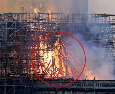 Gereja Katedral Notre Dame Terbakar, Perempuan Ini Melihat Penampakan Yesus