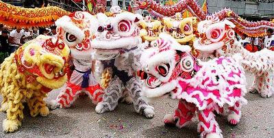 """Mengenal """"Sang Singa"""" di Festival Barongsai Karimun"""