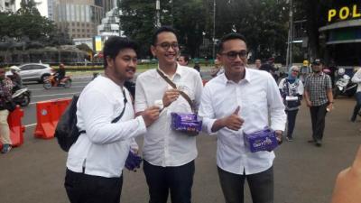 Unggul di <i>Quick Count</i>, Relawan Milenial Jokowi: Mari Melebur Perbedaan