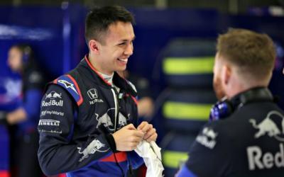 Tost Puji Penampilan Albon di F1 GP China 2019