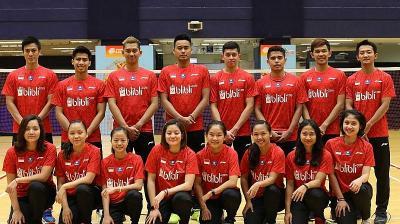 Indonesia Juga Jadi Lawan yang Diwaspadai China di Piala Sudirman 2019